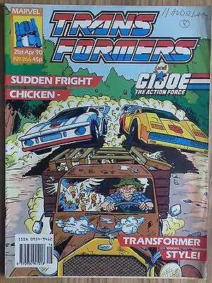 Transformers UK Comic Issue 266