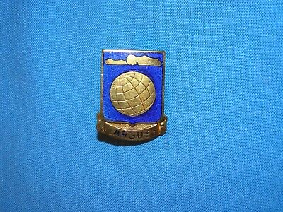 WWII DI DUI Unit Crest, 10th PHOTO PHOTOGRAPHIC GROUP, Theater Made PB (#42)