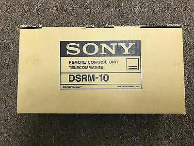 Sony Dsrm-10 Remote Control Unit - New