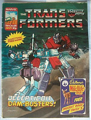 Transformers UK Comic Issue 29 October 1985
