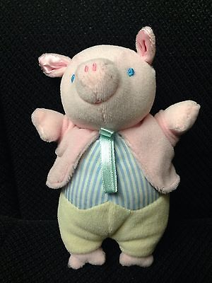"PIGLING BLAND 6"" PIG PLUSH Doll Beatrix Potter Peter Rabbit Eden Stuffed * RARE"
