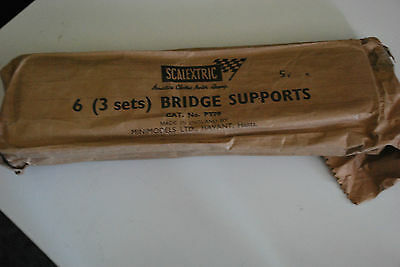 Vintage Triang / Scalextric  Bridge Supports In Original Packaging  (No. Pt70)