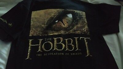 Fabulous RARE HOBBIT tshirt made by WETA; new, never worn. Small; 1 of 500 made.