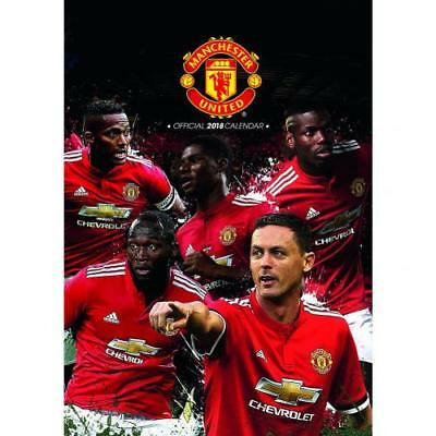 Manchester United F.C. Calendar 2018 Official Merchandise