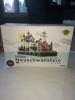 New Nanoblocks Neuschwanstein Castle