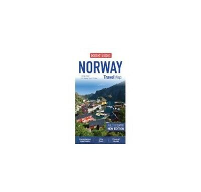Insight Travel Map: Norway (Insight Travel Maps),SM- NEW