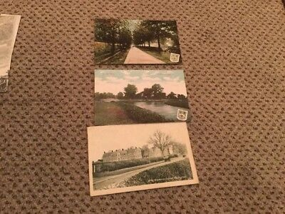 Vintage Postcards Of Wellingborough England 3 Total