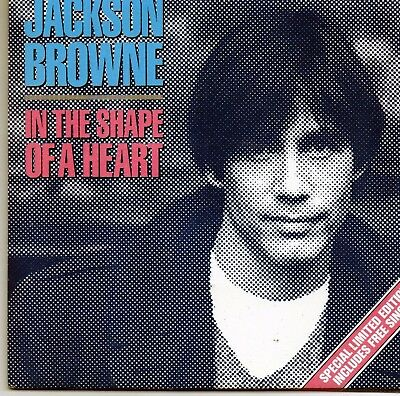 Jackson Browne  In The Shape Of A Heart / Voice Of America Double Single Ltd