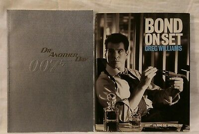 James Bond 007 40th Die Another Day Royal Film Premiere Programme + Book 2002