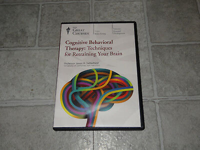 The Great Courses -Cognitive Behavioral Therapy 4 DVD Set