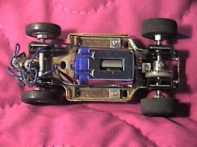 1/32 Strombecker Brass Slot Car Chassis