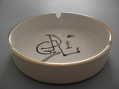 Rare Salvador Dali Distribucions Surrealista Cendrier Ashtray 1980 Spain