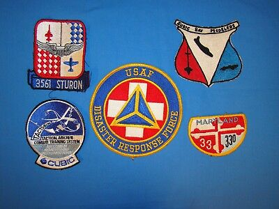 Korea-Vietnam Air Force USAF Squadron Patch LOT (K)