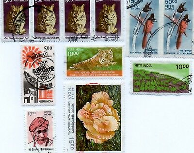 11 India Stamps ,