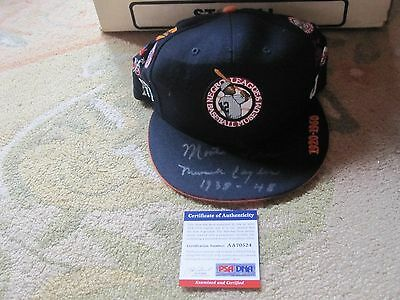 Monte Irvin Autographed Baseball Hat PSA Certified