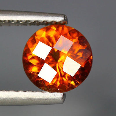 1.46 Cts_Unbelievable Top Rare To Find Color_100 % Natural Spessertite Garnet