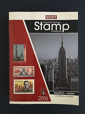 2016 Scott stamp catalogue Volume 5 N-Sam