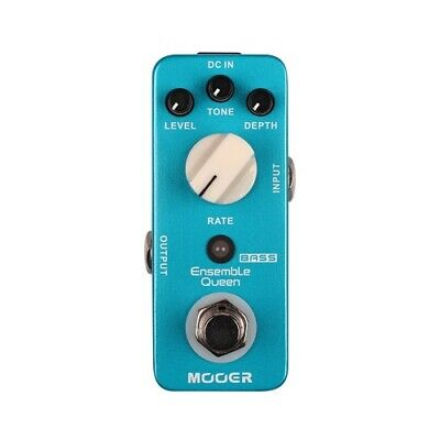 NEW Mooer Ensemble Queen Analog Bass Chorus Pedal *US SELLER*