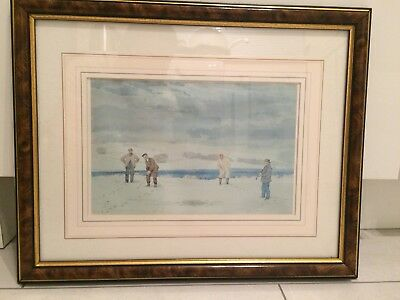 Tom Morris Junior/Young Tom/Tommy Morris Last Match St.Andrews Framed
