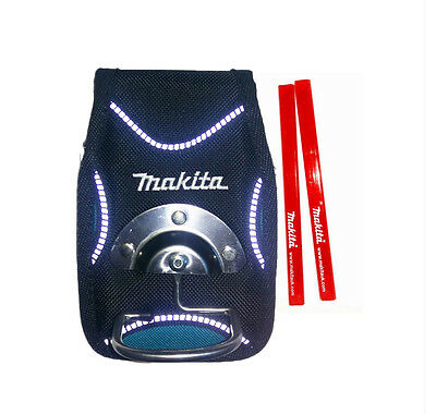 Makita P-71869 Hammer & Tool Holder  New Blue Range + 2 Makita Pencils