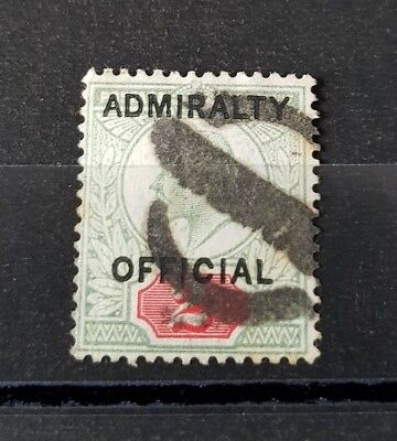 Gb Stamps King Edward Vii Sg O104 2D Admiralty Official Used