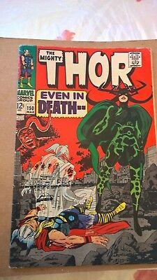 Thor #150 (Mar 1968, Marvel) solid fine + ..First Hella Cover