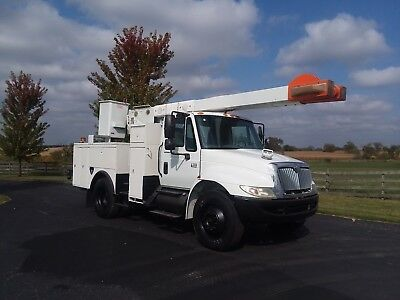 50' 2007 International 4300 Bucket Boom Lift Service Truck (ie ford chevrolet )
