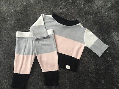Girls River Island Outfit Age 3/6 Months