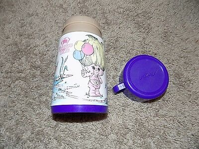 Vintage Treasure Trolls Aladdin Purple Thermos 1992