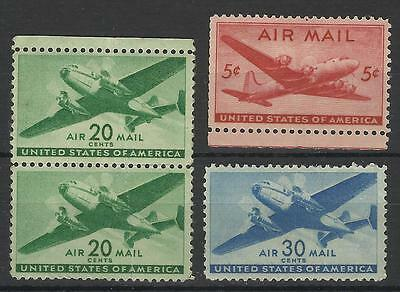 United States 1941 / 46 Air Mail Mint