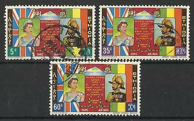 Ethiopia 1965 Royal Visit Set Used