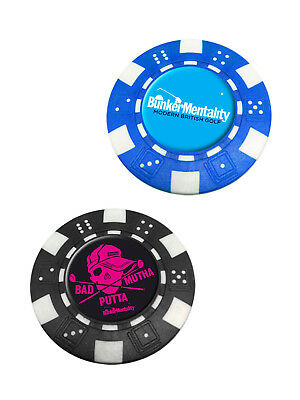Bunker Mentality Bad Mutha Putta Poker Chip Ball Markers