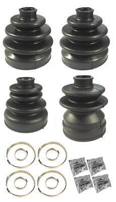 Kenjutsu Front Inner and Outer CV Gaiter Boot set - For R32 Skyline GTR RB26DETT
