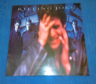 Killing Joke L.p. 1985.   'night Time.'   Eg Recs  -  Eglp 61.   A1 / B1.   Ex+.