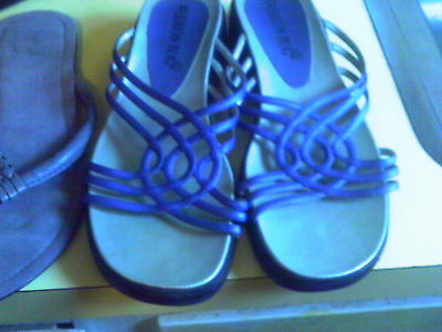 7 pr lot WOMEN'S FLIP FLOP SANDAL LOT 7 M , 8 M
