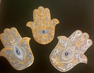 Parchment Card Toppers (Hamsa Hand)