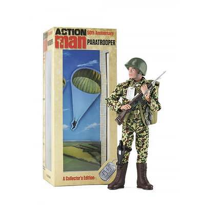 """AM714 Action Man Paratrooper 50th Anniversary 11"""" Figure Limited Edition"""