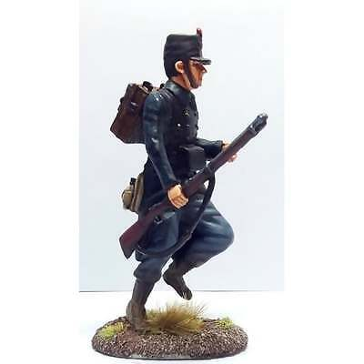 Empire Miniatures 1:32 W1-1405 WW1 Belgian 10th Line Infantry Advancing at Trail