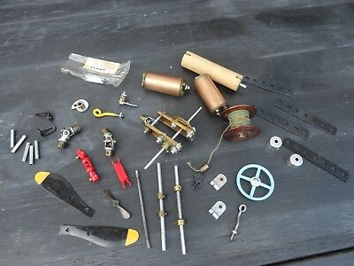 Joblot Old Vintage Meccano Spare Parts Model Toys Mixed Lot