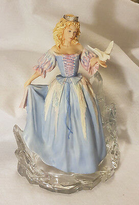 Franklin Mint figurine the House of Faberge Princess of The Ice Palace perfect!