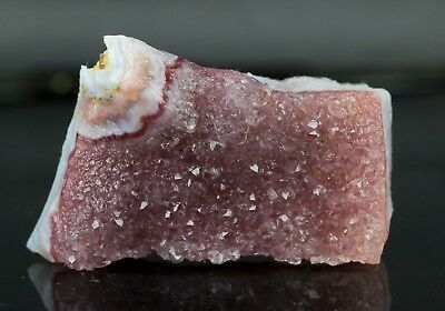 RARE ! Pink  Amethyst with  Red and Blue Lace Calcedony  Specimen - From Turkey