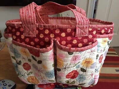 Craft Bag With 6 Pockets  ideal for crafters