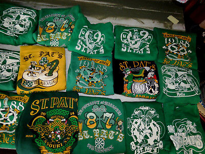 LOT OF 28 VINTAGE 80s SWEATSHIRTS ST PATRICKS DAY SNOOPY COLLEGE ROLLA VTG 90s