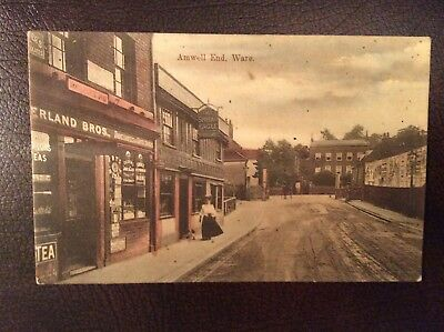 Amwell end Ware 1921 postcard great condition rp