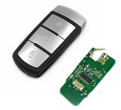 Clé Vierge Smart Key Contact  VW Electronique Passat + CC 3C0959752BA 100% Testé