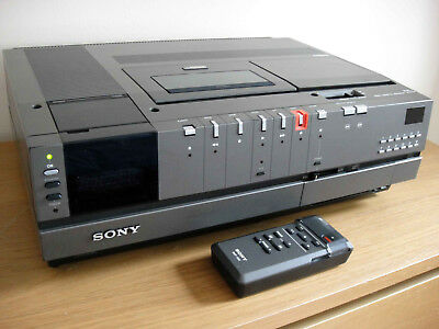 Sony Betamax SL-C7UB Video Recorder - Fully Working - New Heads Fitted - Remote