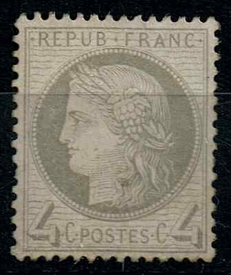 TIMBRE FRANCE Type CERES n°52 NEUF* COTE 500€