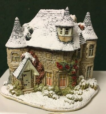 Lilliput Lane House - Christmas At Pitlochry Lodge