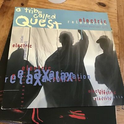 "A Tribe Called Quest Electric Relaxation Vinyl 12"" 1993 Hip Hop"