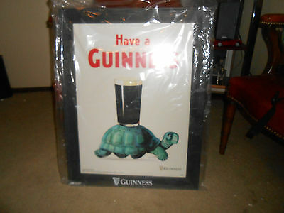 "Guinness Wood Frame Poster ""Have a Guinness"""